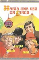 Había una vez un circo - Spanish VHS cover (xs thumbnail)