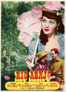 River Lady - Spanish Movie Poster (xs thumbnail)