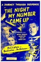 The Night My Number Came Up - British Movie Poster (xs thumbnail)