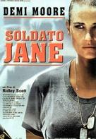 G.I. Jane - Italian Movie Poster (xs thumbnail)