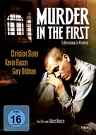 Murder in the First - German Movie Cover (xs thumbnail)