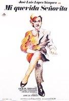 Mi querida señorita - Spanish Movie Poster (xs thumbnail)