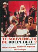 Sjecas li se Dolly Bell - French Movie Poster (xs thumbnail)