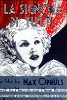 La signora di tutti - British Movie Poster (xs thumbnail)