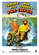 Pari e dispari - Spanish Movie Poster (xs thumbnail)
