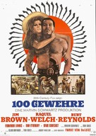 100 Rifles - German Movie Poster (xs thumbnail)