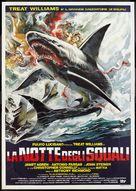 La notte degli squali - Italian Movie Poster (xs thumbnail)