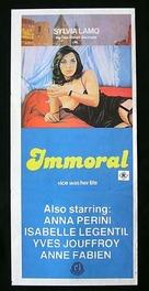 Immorale, L' - Australian Movie Poster (xs thumbnail)