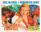Sullivan's Travels - British Movie Poster (xs thumbnail)