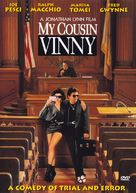 My Cousin Vinny - DVD cover (xs thumbnail)
