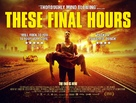 These Final Hours - British Movie Poster (xs thumbnail)