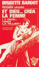 Et Dieu... créa la femme - Spanish Movie Poster (xs thumbnail)