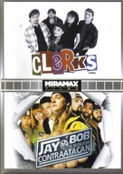 Jay And Silent Bob Strike Back - Mexican DVD movie cover (xs thumbnail)