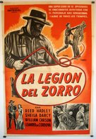 Zorro's Fighting Legion - Spanish Movie Poster (xs thumbnail)