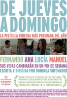De jueves a domingo - Chilean Movie Poster (xs thumbnail)