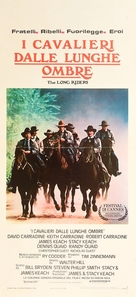 The Long Riders - Italian Movie Poster (xs thumbnail)