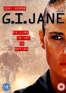 G.I. Jane - British DVD cover (xs thumbnail)