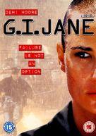 G.I. Jane - British DVD movie cover (xs thumbnail)