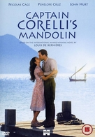 Captain Corelli's Mandolin - British DVD cover (xs thumbnail)