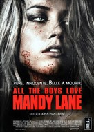 All the Boys Love Mandy Lane - French DVD movie cover (xs thumbnail)