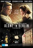 Alone in Berlin - Australian Movie Poster (xs thumbnail)