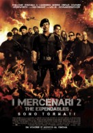 The Expendables 2 - Italian Movie Poster (xs thumbnail)