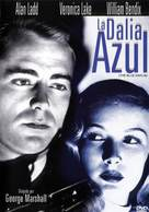 The Blue Dahlia - Spanish DVD cover (xs thumbnail)