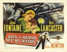 Kiss the Blood Off My Hands - Movie Poster (xs thumbnail)