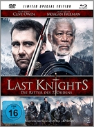 The Last Knights - German Blu-Ray cover (xs thumbnail)