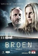 """Bron/Broen"" - Norwegian DVD movie cover (xs thumbnail)"