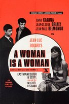 Une femme est une femme - British Movie Poster (xs thumbnail)