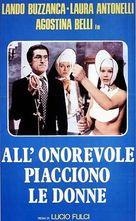 All'onorevole piacciono le donne (Nonostante le apparenze... e purché la nazione non lo sappia) - Italian Movie Poster (xs thumbnail)