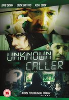 Unknown Caller - British DVD movie cover (xs thumbnail)