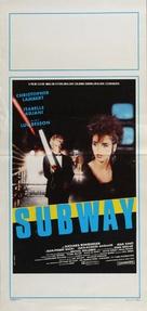 Subway - Italian Movie Poster (xs thumbnail)