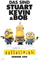 Minions - German Movie Poster (xs thumbnail)