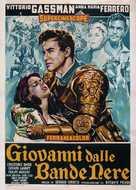 Giovanni dalle bande nere - Italian Movie Poster (xs thumbnail)
