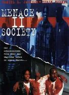 Menace To Society - German DVD cover (xs thumbnail)