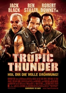 Tropic Thunder - German Movie Poster (xs thumbnail)