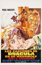 La marca del Hombre-lobo - Belgian Movie Poster (xs thumbnail)
