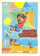 Les grandes vacances - Spanish Movie Poster (xs thumbnail)