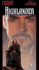 Highlander - VHS cover (xs thumbnail)