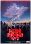 Return of the Living Dead Part II - German DVD cover (xs thumbnail)