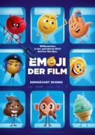 The Emoji Movie - German Movie Poster (xs thumbnail)