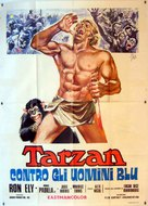Tarzan and the Four O'Clock Army - Italian Movie Poster (xs thumbnail)