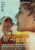My Extraordinary Summer with Tess - Andorran Movie Poster (xs thumbnail)