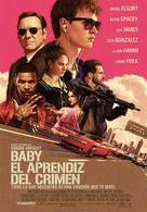 Baby Driver - Argentinian Movie Poster (xs thumbnail)