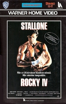 Rocky IV - Finnish VHS movie cover (xs thumbnail)