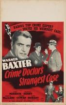 Crime Doctor's Strangest Case - Movie Poster (xs thumbnail)