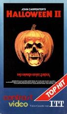 Halloween II - German VHS movie cover (xs thumbnail)