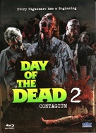 Day of the Dead 2: Contagium - German Blu-Ray cover (xs thumbnail)